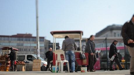 Informal economy in Istanbul