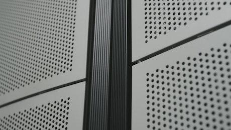 Inside a server room