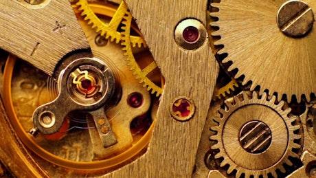 Inside of a clockwork
