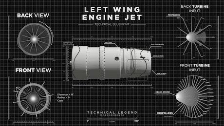 Jet engine display interface