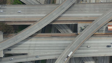 Judge Pregerson Highway, aerial close up