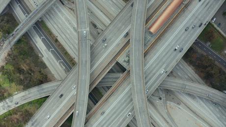 Judge Pregerson Highway, top shot