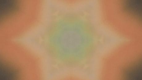 Kaleidoscope with multicolor