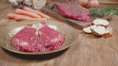 Keto diet meat and vegetables recipe intro