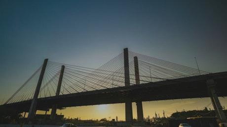 Kosciuszko Bridge in New York