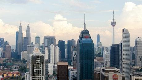 Kuala Lumpur city buildings