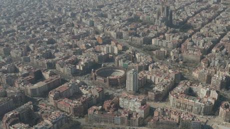 La Monumental in Barcelona city
