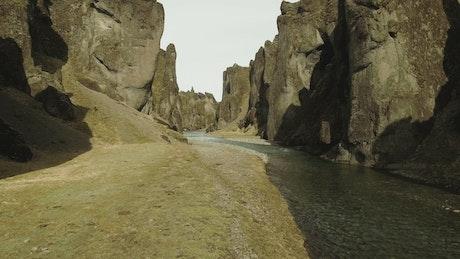 Large canyon river