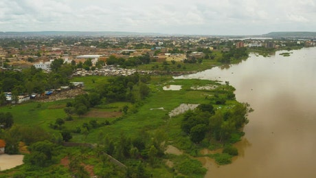 Large river in Africa