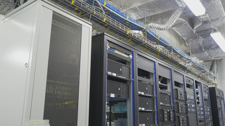 Large servers in a datacenter