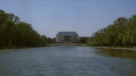 Lincoln Memorial on a quiet day