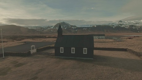 Little Church by the mountains
