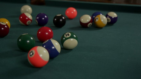 Loading up Billiard balls