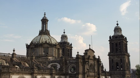 Main cathedral of mexico city