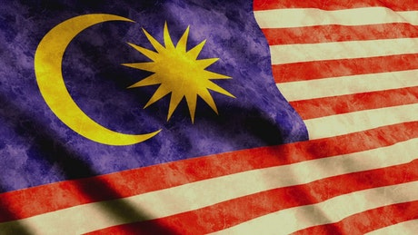 Malaysian flag from Asia