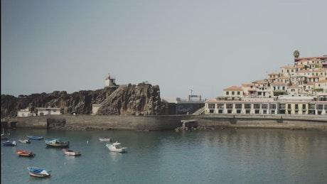 Malecon of a coastal city