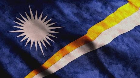 Marshal Islands flag, full screen