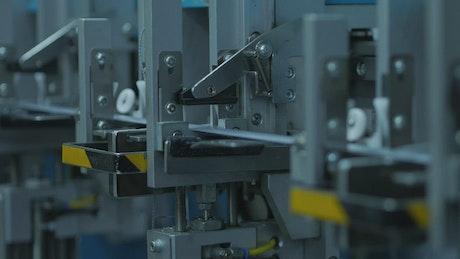 Mechanical machine working