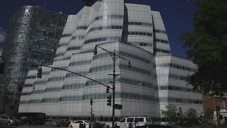 Modern buildings in New York