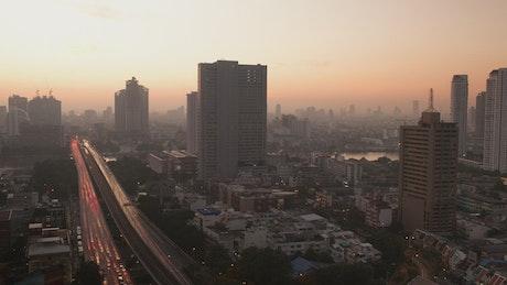 Morning over Bangkok