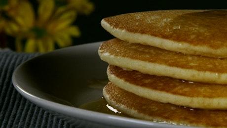 Morning pancakes