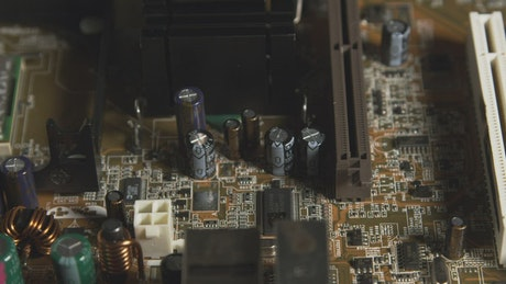 Motherboard from an old computer