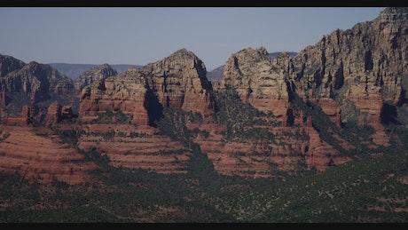 Mountains in the Arizona desert