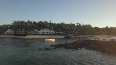 Mouses along Mauritius Island