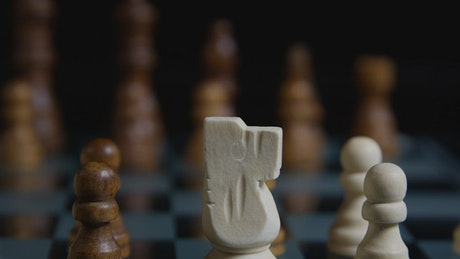 Moving a Chess piece