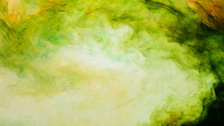 Multi colored smoke texture spinning