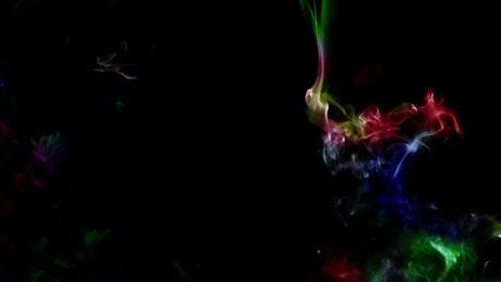 Multicolor smoke fluid