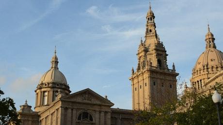 Museum building in Barcelona