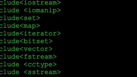 Navigating in programming code