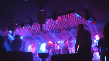Nightclub time lapse