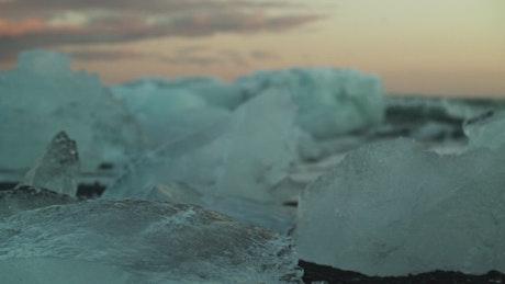 Ocean ice melting