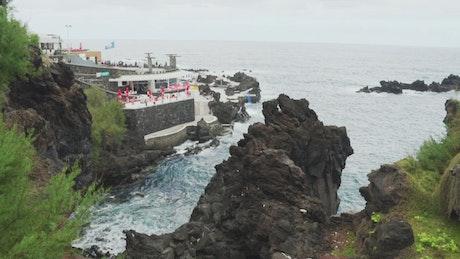 Ocean View Cliff