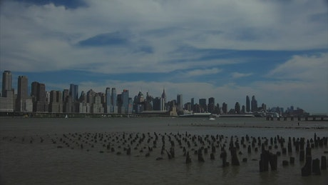 Old Pier in New York