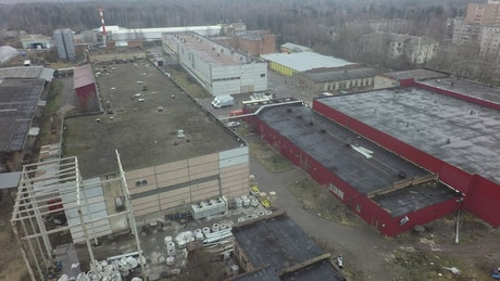 Old warehouse buildings