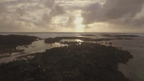 On the coast of the Indian Ocean