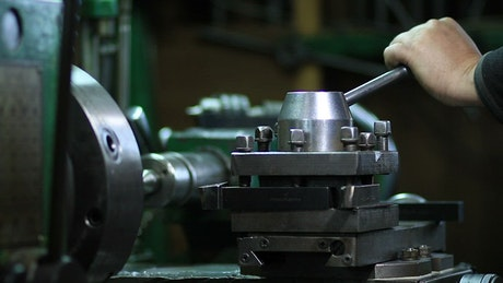 Operating a Lathe