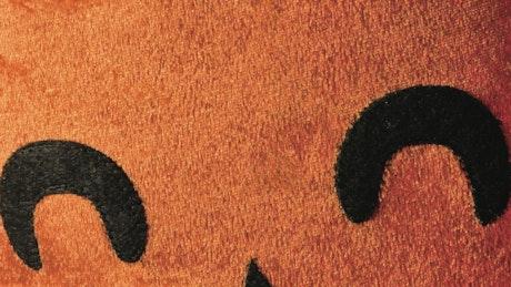 Orange material pumpkin