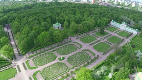 Palace grounds in Tsaritsyno