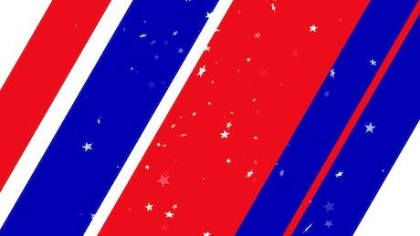 Patriotic Stars and Stripes