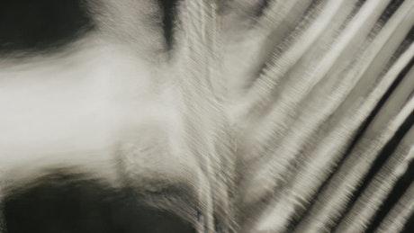 Pattern shapes in a fluid motion