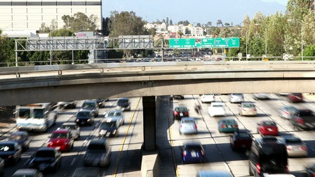 Peak-hour traffic