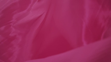 Pink wavy fabric texture