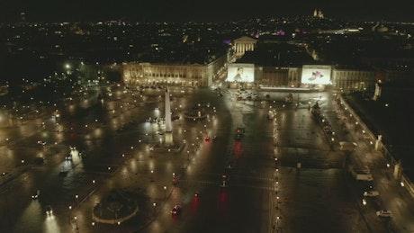 Place De La Concorde, Paris at night