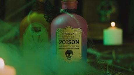 Poison in Halloween ritual