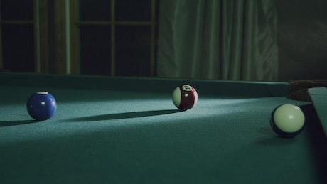 Potting a ball