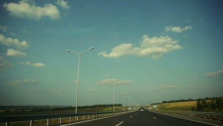 POV while driving on a highway